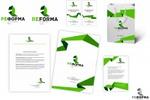 Разработка логотипа, фир стиля для архитектурного бюро (конкурс)