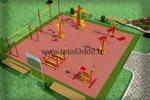 Моделинг и визуализация спортивных площадок