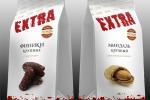 Дизайн серии упаковок орехов и сухофруктов