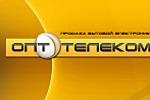 """Разработка логотипа для сайта """"Опт-телеком"""""""