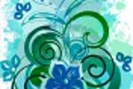 Цветочный всплеск. floral splash