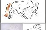 Horse. Конь