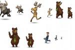 Персонажи для промо-игры Тир (сайт+Вконтакте+Фейсбук)