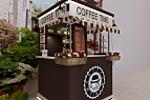 дизайн торговой точки по продаже кофе на вынос