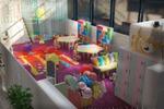 Визуализация детской площадки для торгового центра