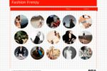 Сайт для модного брэнда