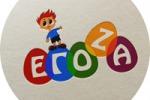 """Логотип детского магазина """"Егоза"""""""