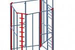 Разработка модели и КД детского гимнастического уголка