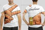 Отрисовка принтов для футболок по эскизам заказчика