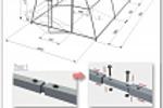 Разработка чертежа теплицы для инструкции