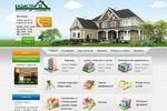 Сайт агентства недвижимости Кадастр
