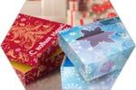 Упаковки к новому году для полотенец