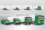 Иконки для торгово-транспортной компании