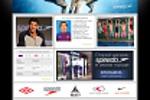 Сайт мультибрендовой компании по продаже спортивных товаров.