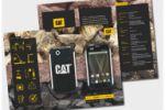 Оформление промо-материалов рекламной компании Caterpillar