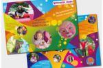 Лифлет детских праздникв