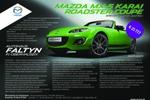 Текст для рекламной листовки Mazda MX5 Karai