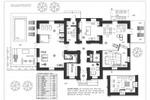План с расстановкой мебели и оборудования (частный дом)