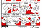 Открытка комикс