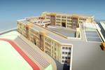 Общее решение фасадов школы (1)