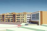 Общее решение фасадов школы (2)