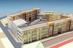 Общее решение фасадов школы (4)