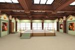 Интерьер спортивного центра тайского бокса. (1)