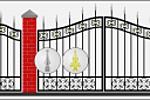 Дизайн кованых ворот