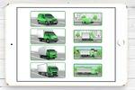 Иконки-иллюстрации для сайта транспортной компании