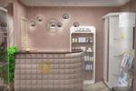 Дизайн и визуализация салона красоты Лайн. г. Москва
