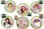 фотомонтаж на сувенирных тарелках