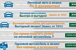 серия баннеров для сайта www.leasing66.ru