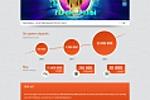 Верстка сайта для компании Pinokl Games