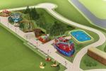1. Игровая детская площадка.
