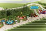 2. Игровая детская площадка.