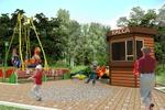 3. Игровая детская площадка.