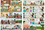 Комикс о пожарных (часть)