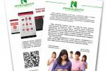 Промо-листовки новой платежной системы