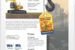 Сайт компании по аренде спецтехники