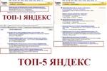 ТОП-10 Яндекса. Сайт гостиницы г. Пушкина