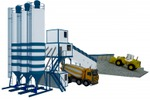 бетонный завод (промдизайн)