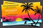 визитка для турагентства_шаблон