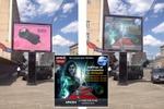 Добавление макета рекламы на фото биллборда