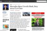 Mercedes-Benz Unveils Sleek, Sexy 2014 CLA-Class