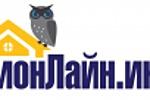 Логотип для интернет-портала DOMONLINE