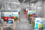 Дизайн и визуализация офиса иностранной компании.