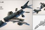 Boeing 747 - 400 разрушенный (объект для игры)