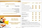 Анкета-опросник для ресторана шведской линии