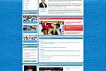 Макет для сайта федерации спортивной борьбы Крыма