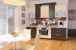 кухня в частном доме.